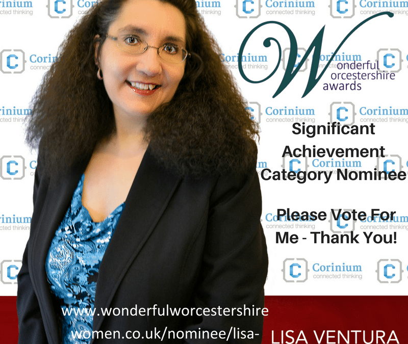 Nomination in the Significant Achievement Category in the Wonderful Worcestershire Awards