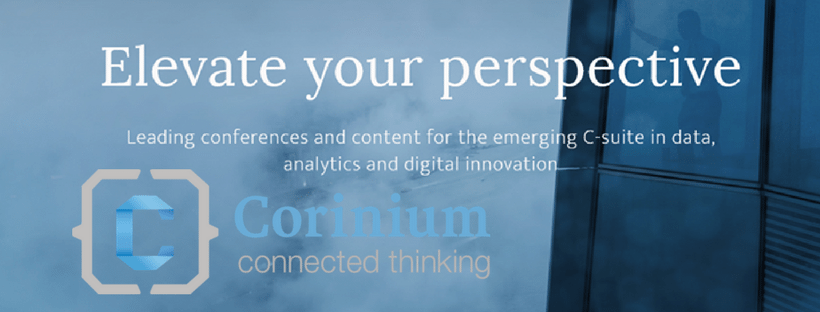 Attending the Chief Data and Analytics Officer UK Event in London run by Corinium Global Intelligence