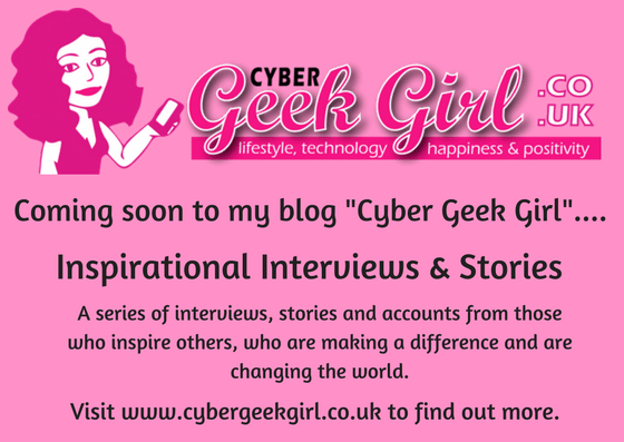 Announcement: Inspirational Stories and Interviews on my Blog