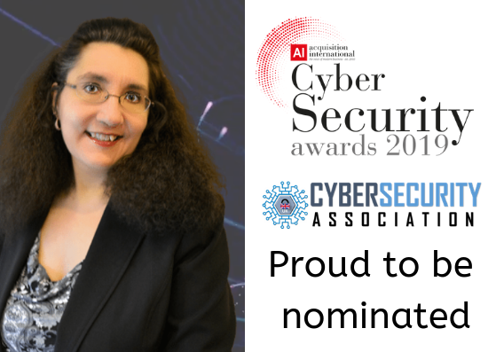 Proud to be Nominated in Acquisition International's 2019 Cyber Security Awards
