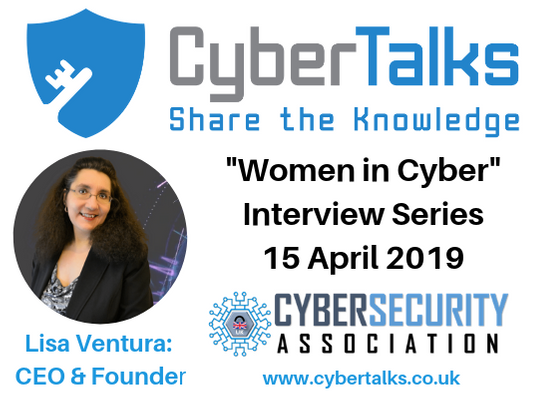 """Lisa Ventura to be Interviewed for """"Cyber Talks"""""""