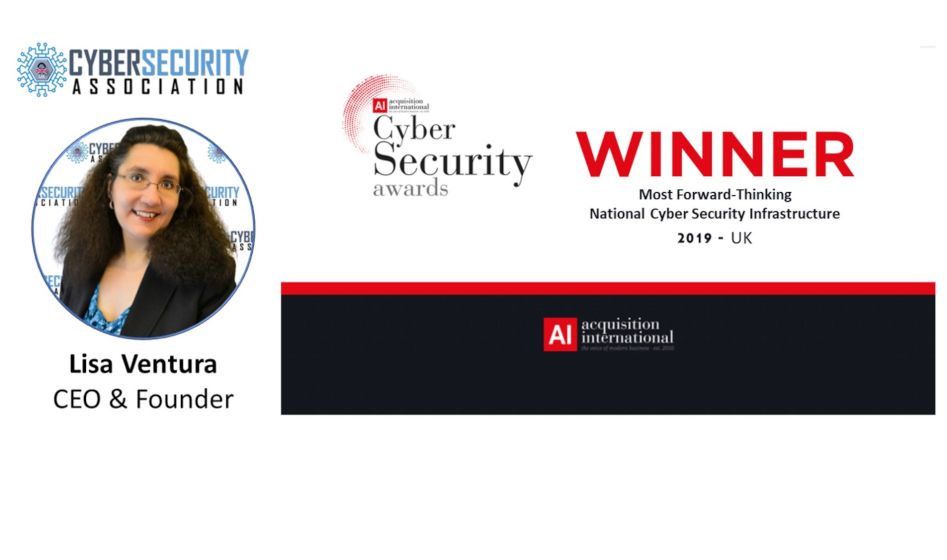 UK Cyber Security Association Named a Winner in Acquisition International Magazine's 2019 Cyber Security Awards