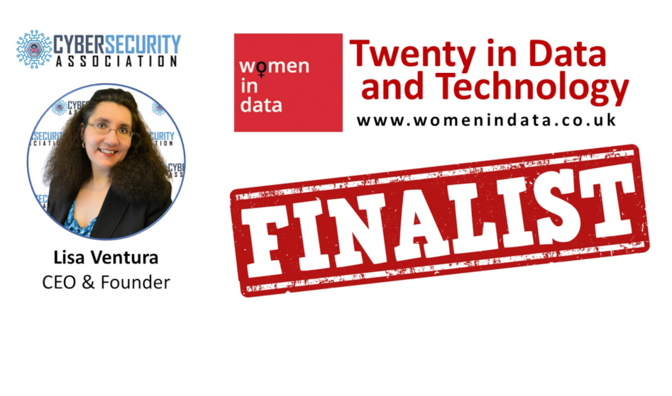 """Lisa Ventura Named a Finalist in This Year's Women in Data's """"Twenty in Data and Technology"""" Awards"""