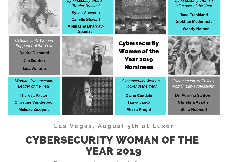 Lisa Ventura Named Finalist in Inteligenca's Cyber Security Women of the Year Awards