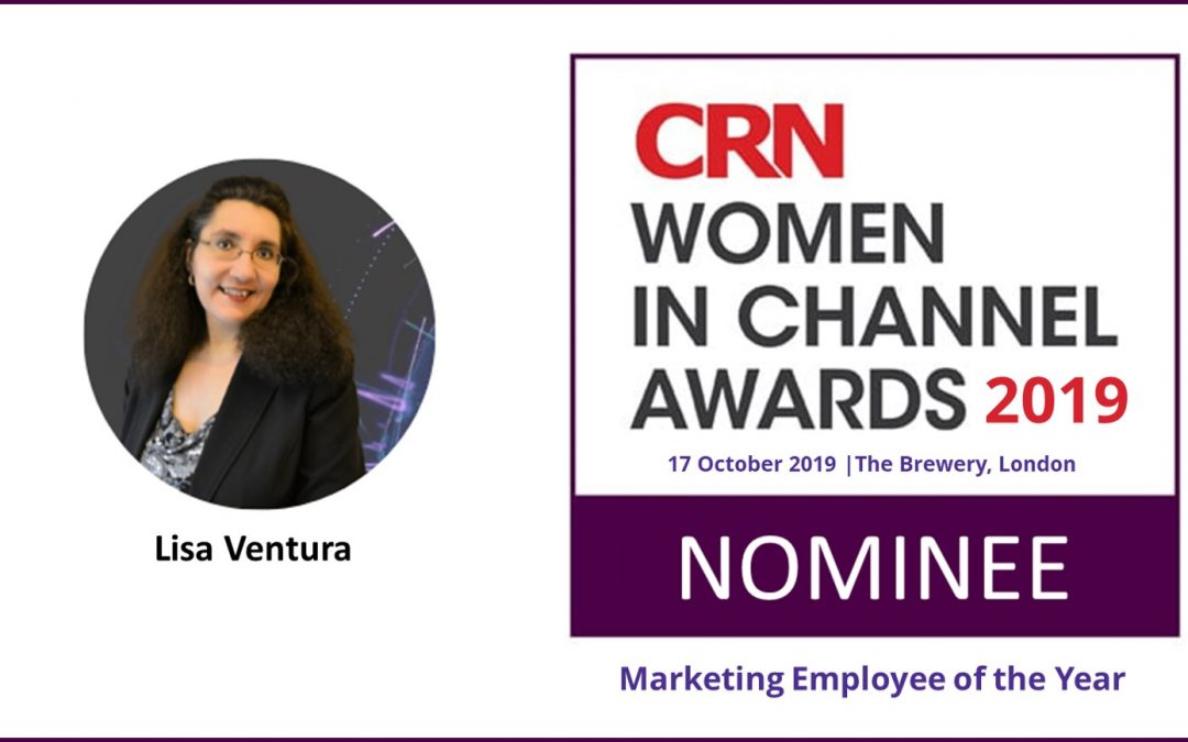 Lisa Ventura Nominated for CRN Women in Channel Awards