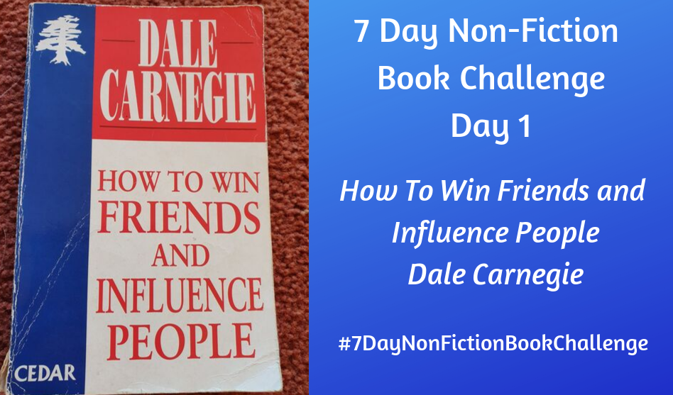 7 Day Non-Fiction Book Challenge: Day 1