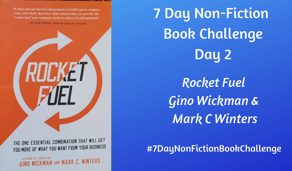 7 Day Non-Fiction Book Challenge: Day 2