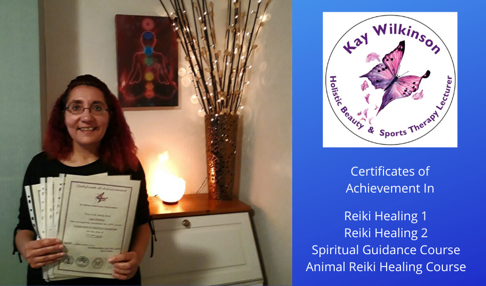 Reiki Benefits: Lisa Ventura Annouces Qualifications Gained in Reiki Healing