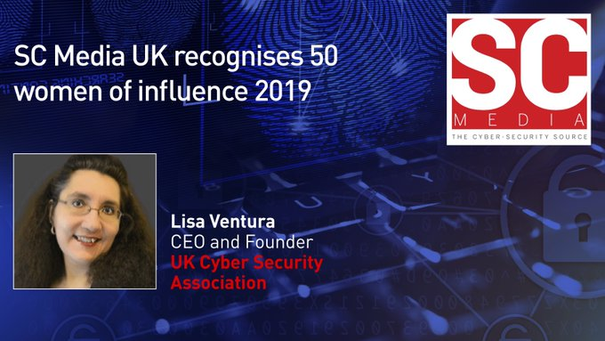 Lisa Ventura Included In SC Magazine's Top 50 Women of Influence in Cyber Security List