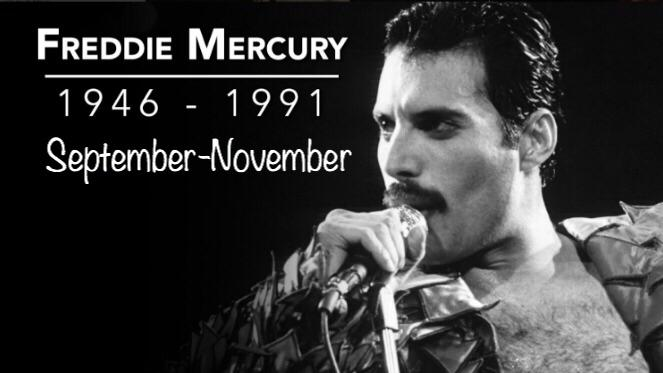 Remembering Freddie Mercury on the Anniversary of his Death