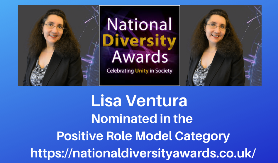 Lisa Ventura Nominated For National Diversity Award