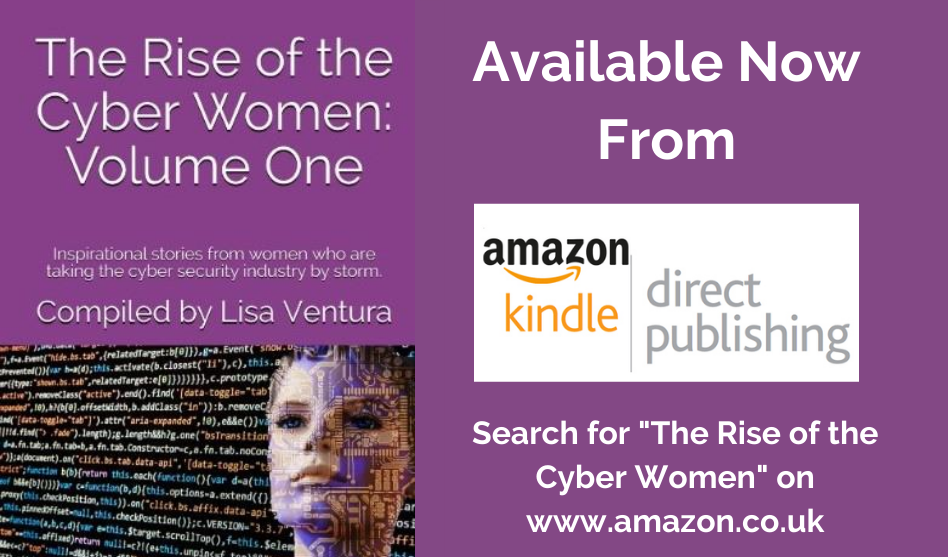 "Lisa Ventura Announces Publication of her First Book ""The Rise of the Cyber Women"""